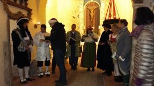 Theatergruppe Raßnitz in der Röglitzer Kirche